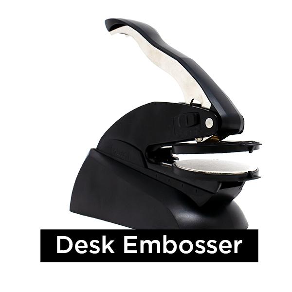 Notary Embosser Seal - Desk Embosser
