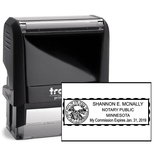 Minnesota Notary Seal Stamp