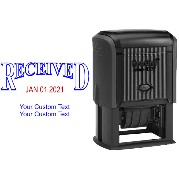 Received Custom Date Stamp Body and Design