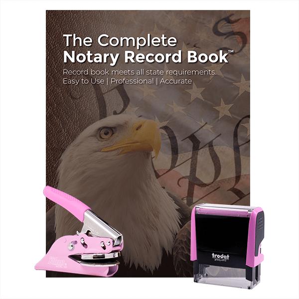 Alabama Pink Value Notary Kit