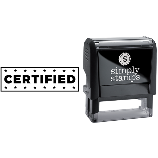 Cerfified with Stars Business Stamp