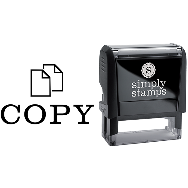 Copy with Paper Graphic Business Stamp