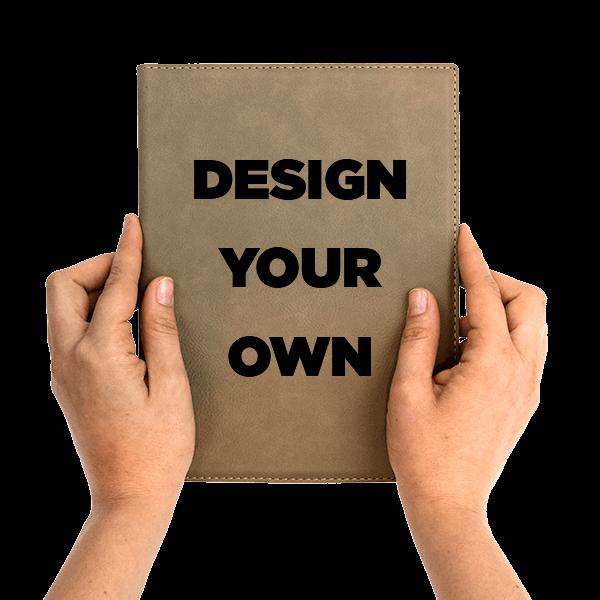 Create Your Own Leatherette Portfolio | Small