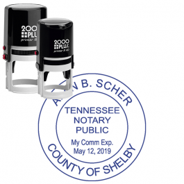 Tennessee Round Notary Seal
