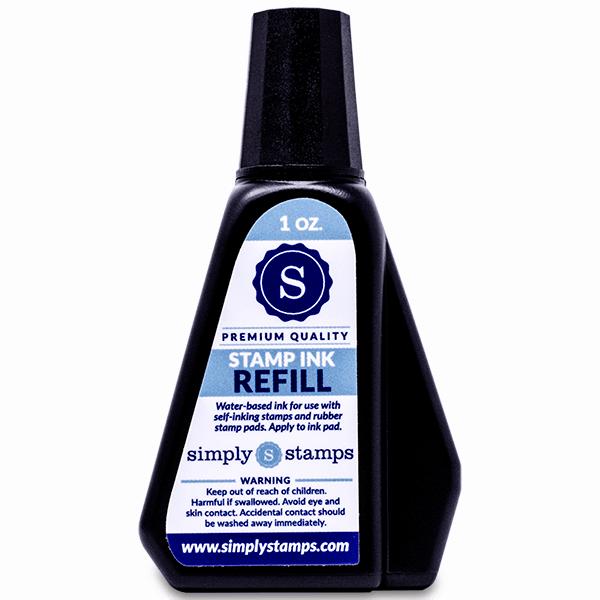 Trodat (Ideal) Ink 1 oz (6cc) bottle