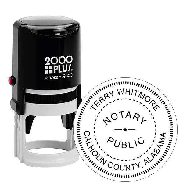 Alabama Notary Stamp