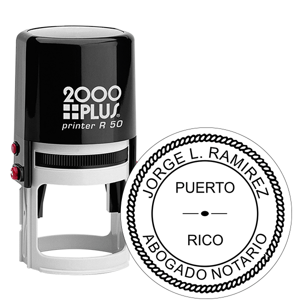Puerto Rico Notary Stamp