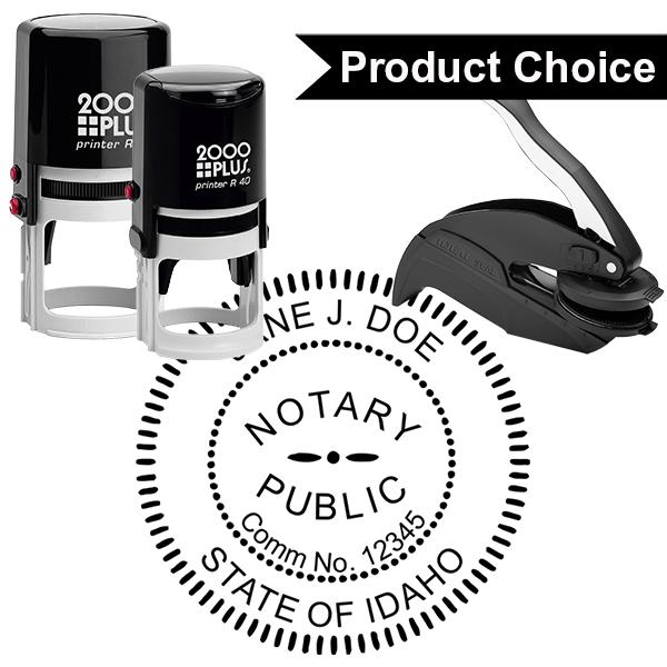 Idaho Notary Round