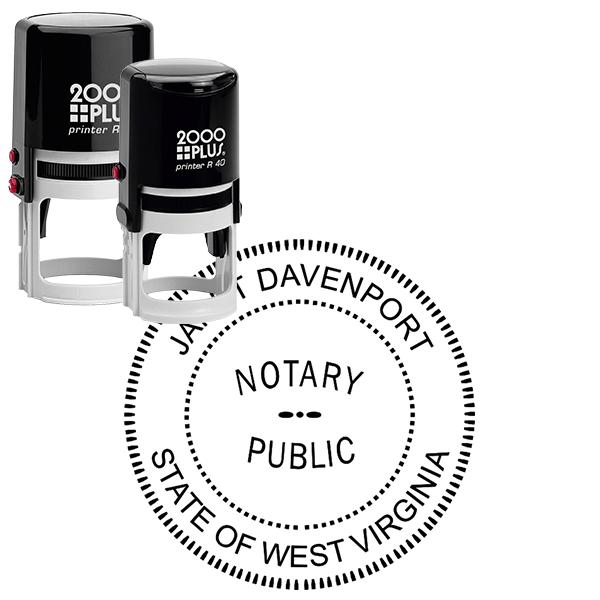 West Virginia Notary Round