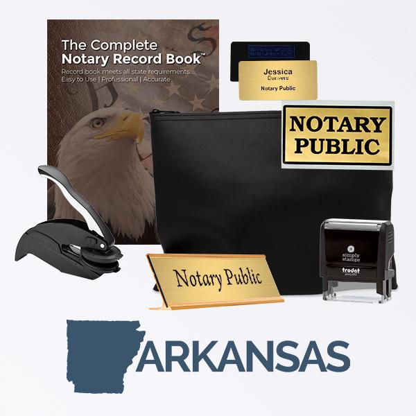 Arkansas Deluxe Notary Kit
