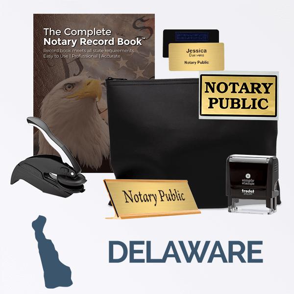 Delaware Deluxe Notary Kit