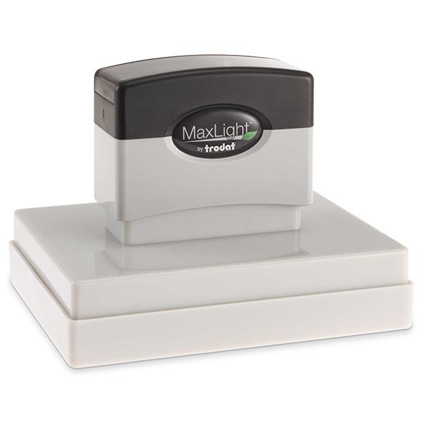 MaxLight Custom Pre-Inked Stamp - MAX-700Z -  Black Ink