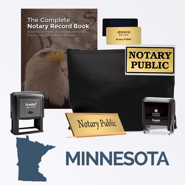 Minnesota Deluxe Notary Kit