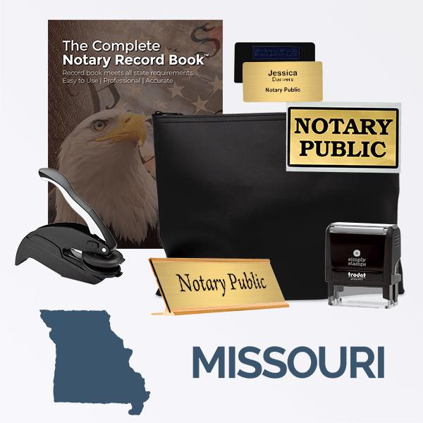 Missouri Deluxe Notary Kit