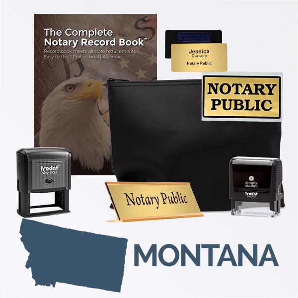 Montana Deluxe Notary Kit