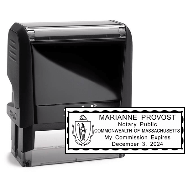 Notary Rectangle Stamp | Self-Inking