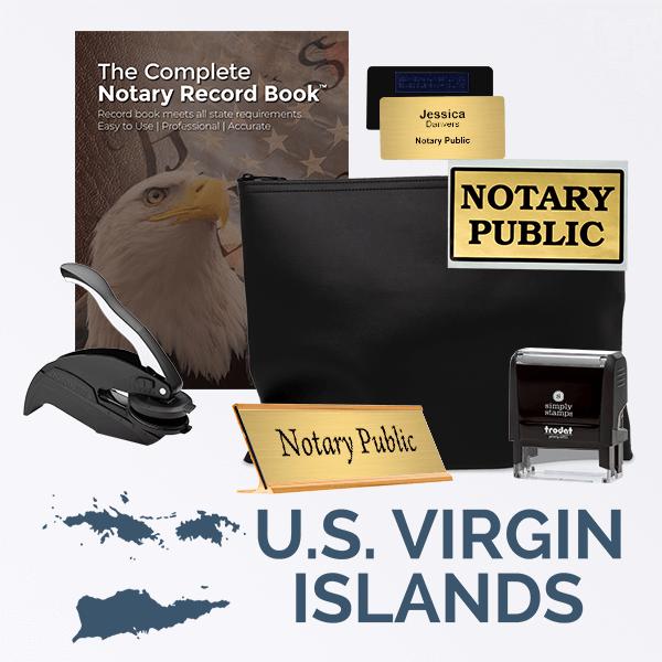 U.S. Virgin Islands Deluxe Notary Kit