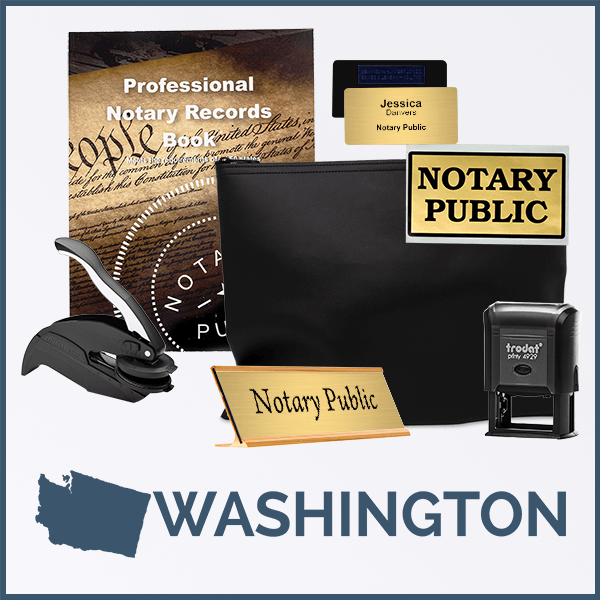 Washington Deluxe Notary Kit