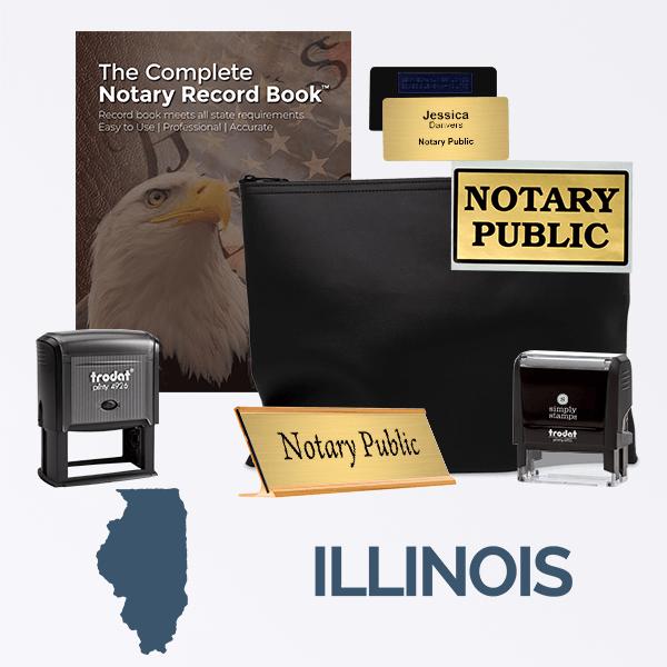 Illinois Deluxe Notary Kit