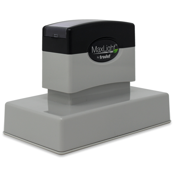 MaxLight Custom Pre-Inked Stamp - MAX-275Z -  Black Ink