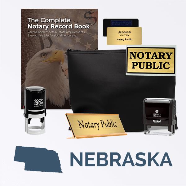 Nebraska Deluxe Notary Kit