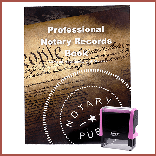 Nevada Pink Value Notary Kit
