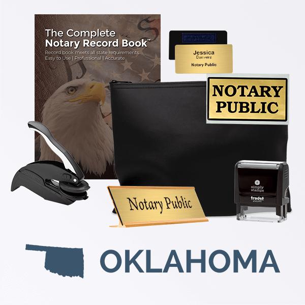 Oklahoma Deluxe Notary Kit