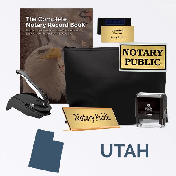 Utah Deluxe Notary Kit